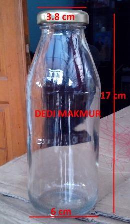 Botol kaca Jus 350 ml